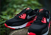 Кроссовки Nike Air Max 90 Black/Red