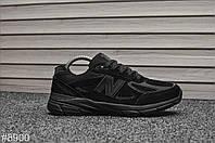 Кроссовки мужские New Balance 990 Triple Black. ТОП КАЧЕСТВО!!!  Реплика, фото 1