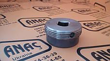 123/07665, 128/10850 Гайка регулировочная опоры (металическая) на JCB 3CX, 4CX, фото 3