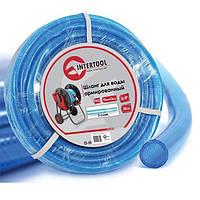 """Шланг для воды 3-х слойный 3/4"""", 30м, армированный PVC INTERTOOL GE-4075, фото 1"""