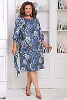 Платье женское ангора больших батальных размеров 48-62, 2 цвета
