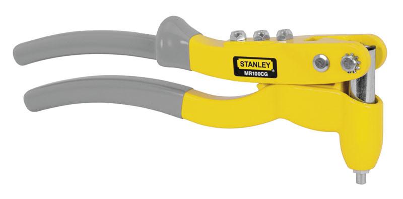 Заклепочный пистолет профи (Ф 2,5; 3; 4, 5 мм - сталь, алюм., нерж.)  STANLEY 6-MR100