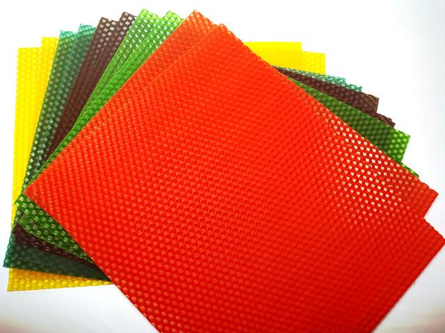 Цветная вощина - набор для творчества apimag апимаг