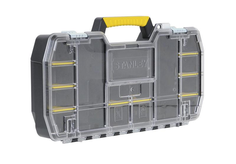 Ящик инструментальный (кассетница 61 x 9,5 x 33см) крышка из поликарбоната  STANLEY STST1-79203