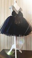 Детское нарядное платье с пайетками