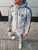 Мужской спортивный костюм с капюшоном adidas оу/