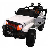 Електромобіль Jeep 4x4 XXL білий