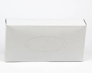Косметические салфетки в белой коробке, 2 слой, 80 шт
