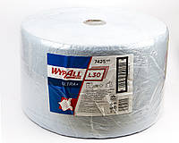 Протирочный материал Wypall L30 Utra + в рулоне, голубой, 60гр / м2, 750 листов, 3 слойный, Kimberly-Clark