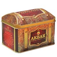 Чай Акбар Strawberry Cream 250 грамм сундук