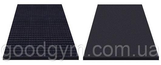 Резиновый мат 1200х1800 (1750мм)черный, фото 2