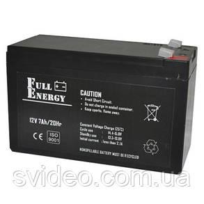 Аккумулятор для ИБП Full Energy FEP-127 , не обслуживаемый,12 В, 7А/ч, Свинцово-кислотный (AGM технология), фото 2