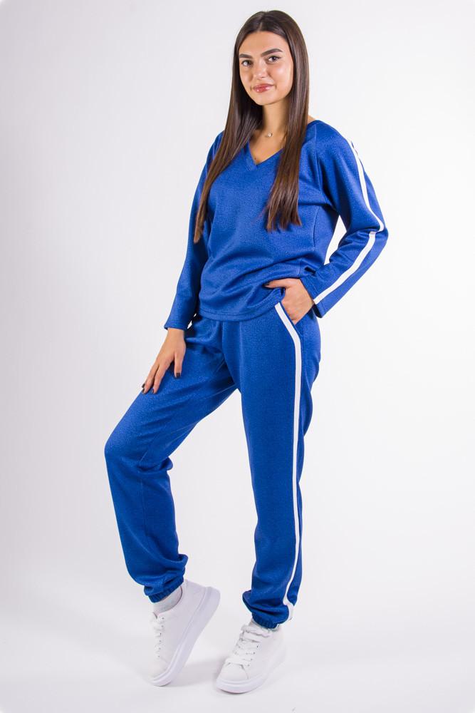 Спортивный костюм женский голубой