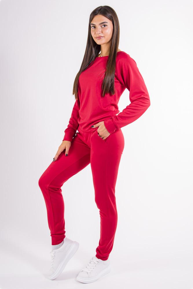 Спорт костюм женский красный