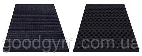 Резиновый мат 1200х1800 (1750мм)черный, фото 3