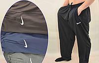 Мужские спортивный трикотажные брюки в очень больших размеров 3XL,4XL,5XL,6XL чёрние/синие/серие двухнитка
