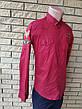 Рубашка мужская коттоновая брендовая высокого качества, маленький размер PART TIME, Турция, фото 2