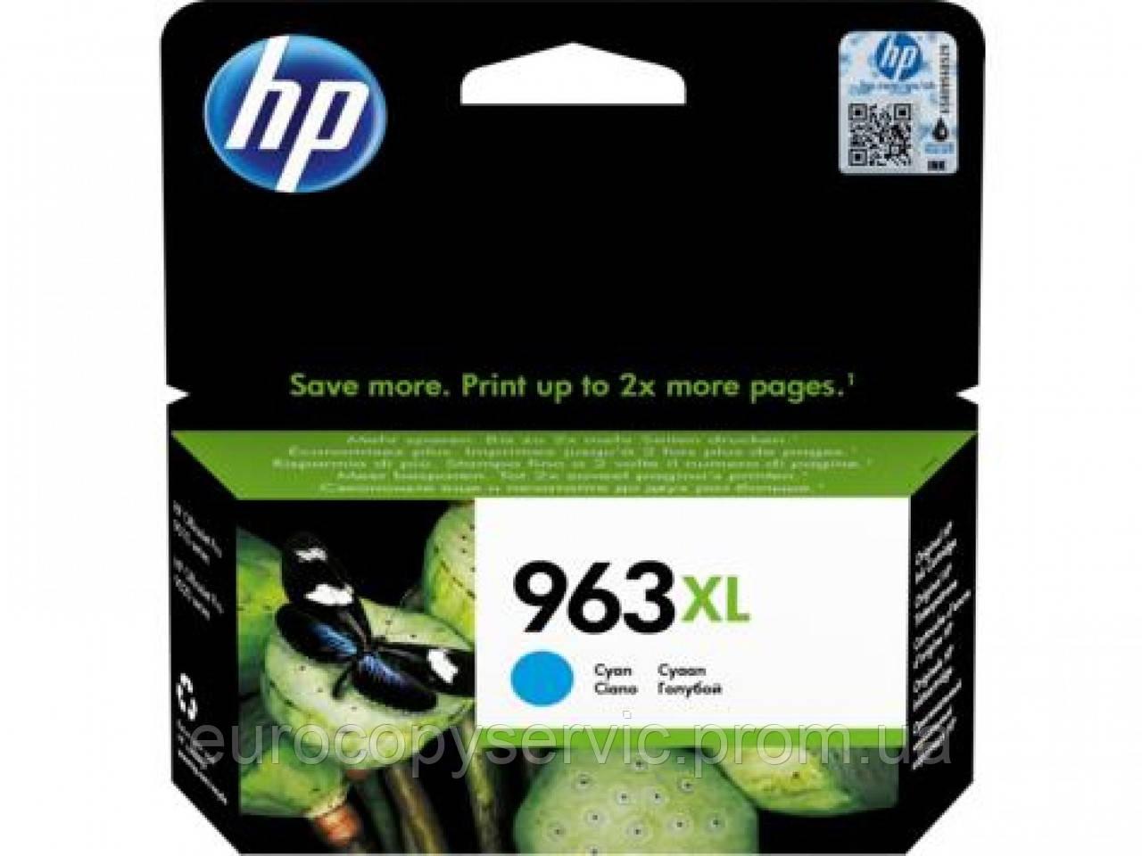 Картридж HP 963XL High Yield Cyan Original Ink Cartridge