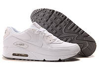 """Кроссовки Nike Air Max 90 Leather """"All White"""" Арт. 0018"""