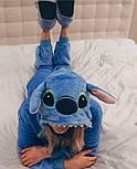 (S) Кигуруми стич голубой v101, фото 6