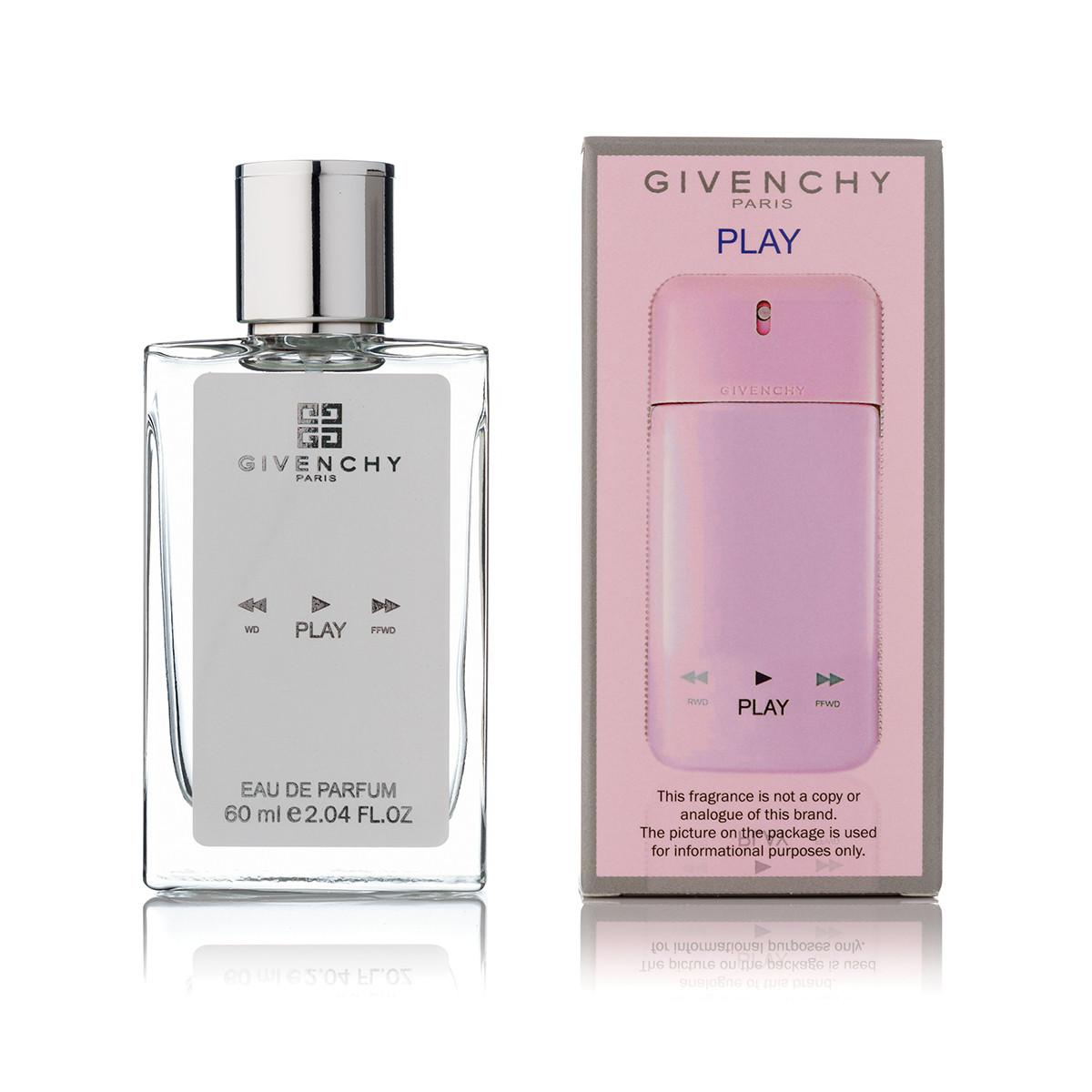 60 мл мини парфюм Givenchy Play For Her - (Ж)