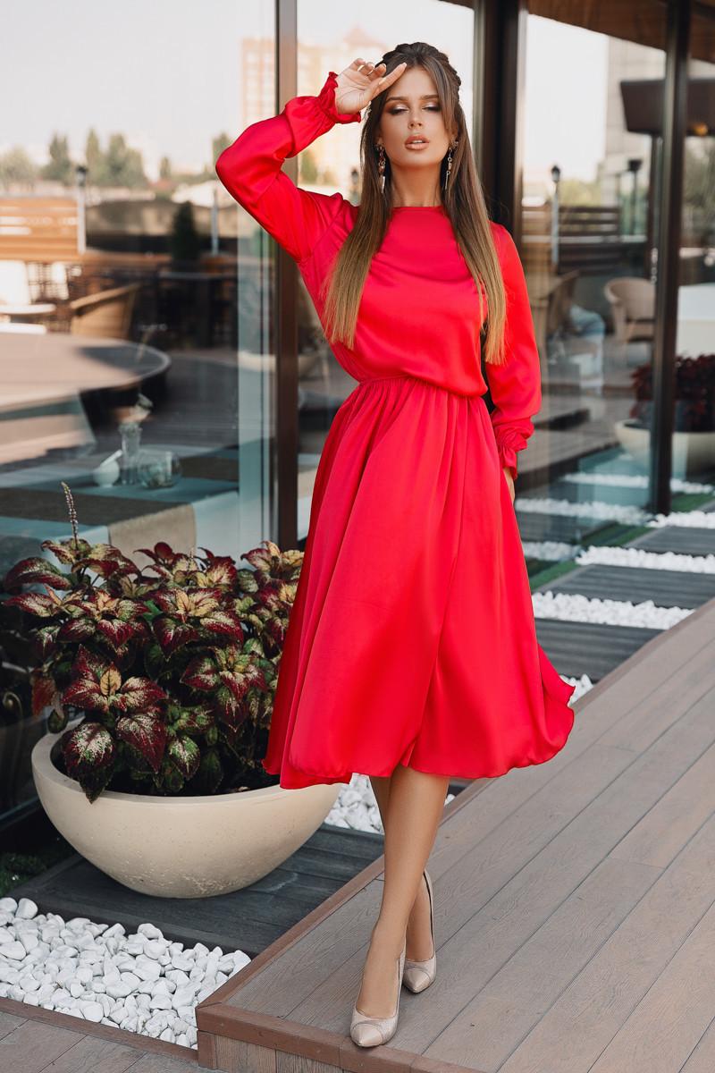 Платье LiLove 703-1 44-46 красный