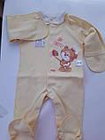 Комбинезоны для новорожденных в роддом., фото 8