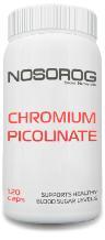 Пиколинат хрома NOSOROG Chromium Picolinate 120 caps