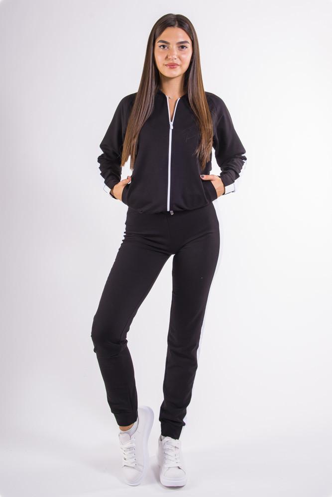 Спортивный костюм женский черный