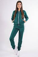 Зеленый женский спортивный костюм, фото 1