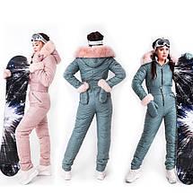 Зимний горнолыжный женский комбинезон двусторонний XS-XL, фото 2