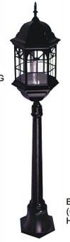 Садово - парковый светильник Столб SV-7040 L B + water pipe