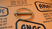 826/00512 Замок-кольцо заднего ковша (45мм) на JCB 3CX, 4CX, фото 3