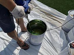 Укладка синтетической травы на школьном стадионе, г. Одесса 8