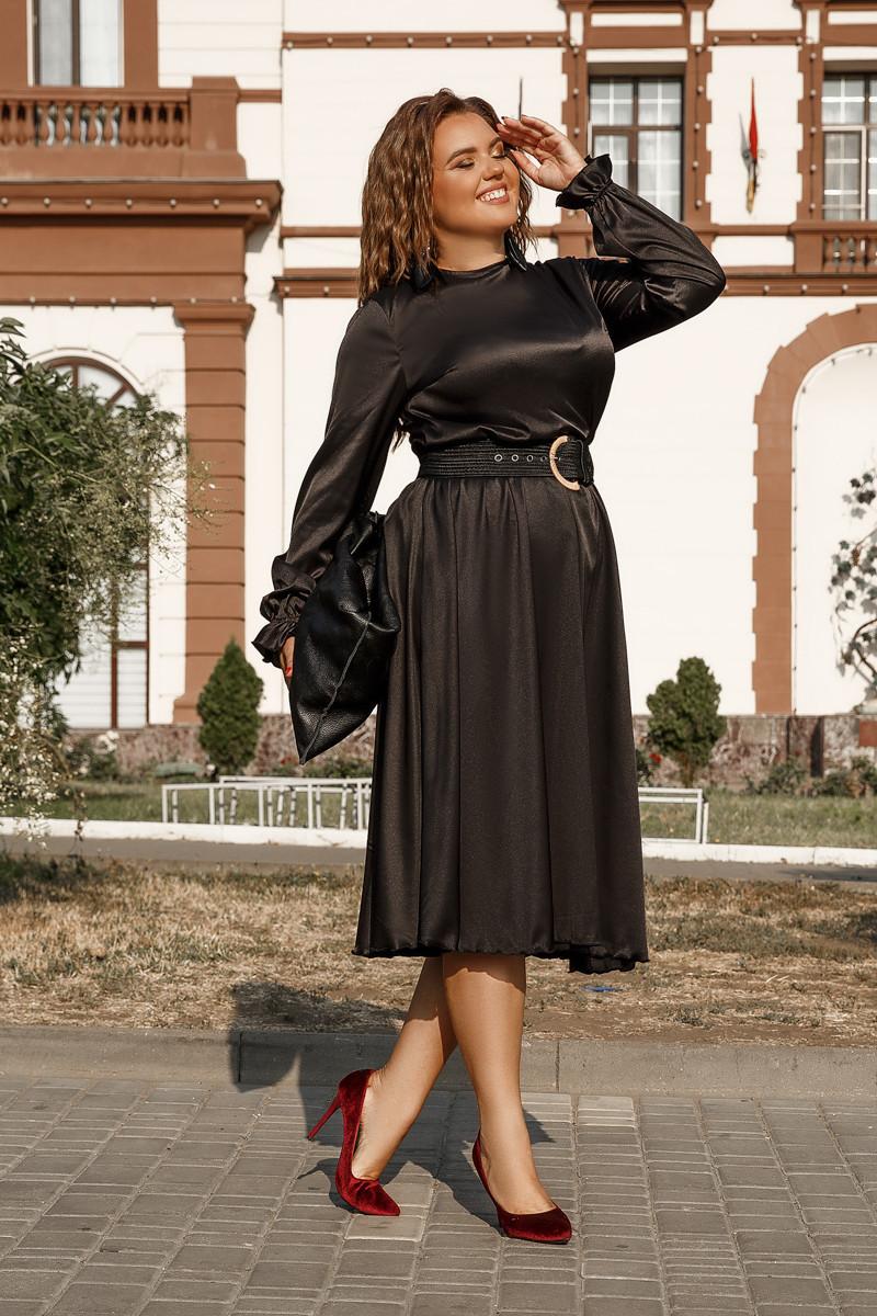 Платье LiLove 703-2 52-54 черный