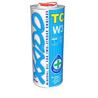 Масло XADO Atomic Oil TC W3 1L (для 2Т двигателей)