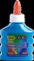 Синий непрозрачный клей для слаймов zibi zb.6113-02 на pva-основе 88 мл