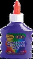 Фиолетовый непрозрачный клей для слаймов zibi zb.6113-07 на pva-основе 88 мл