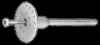 R-TFIX-8SX  Вкручиваемый фасадный дюбель с оцинкованным гвоздём