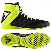 Боксерки Adidas SpeedEX 16.1 (BA7930, черно-зеленые)