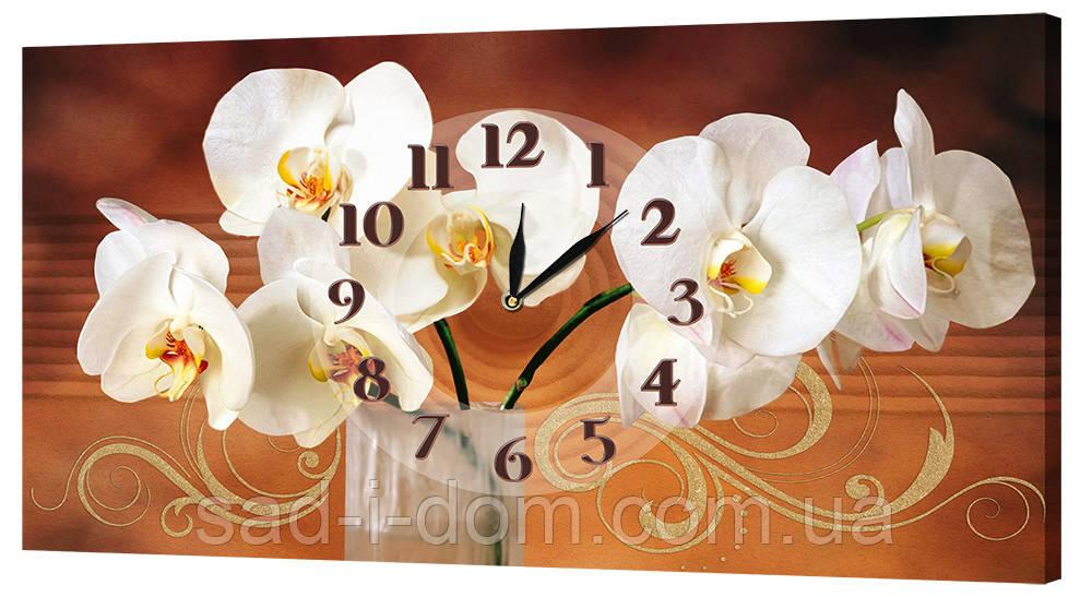 Часы на холсте 24х44 см