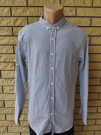 Рубашка мужская коттоновая брендовая высокого качества PART TIME, Турция, фото 2