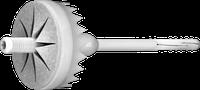 TFIX-8ST Вкручиваемый фасадный дюбель с оцинкованным гвоздём