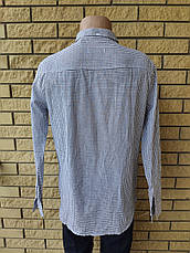 Рубашка мужская коттоновая брендовая высокого качества PART TIME, Турция, фото 3