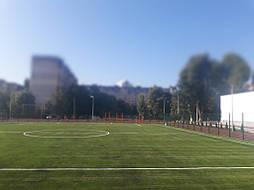 Укладка синтетической травы на школьном стадионе, г. Одесса 15