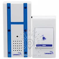 Звонок Lemanso 230V LDB48 белый с синим, фото 1