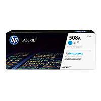 Заправка картриджа HP 508A Cyan CF361A для принтера Color LJ Enterprise M552dn, M553dn, M553n, M553x, M577d