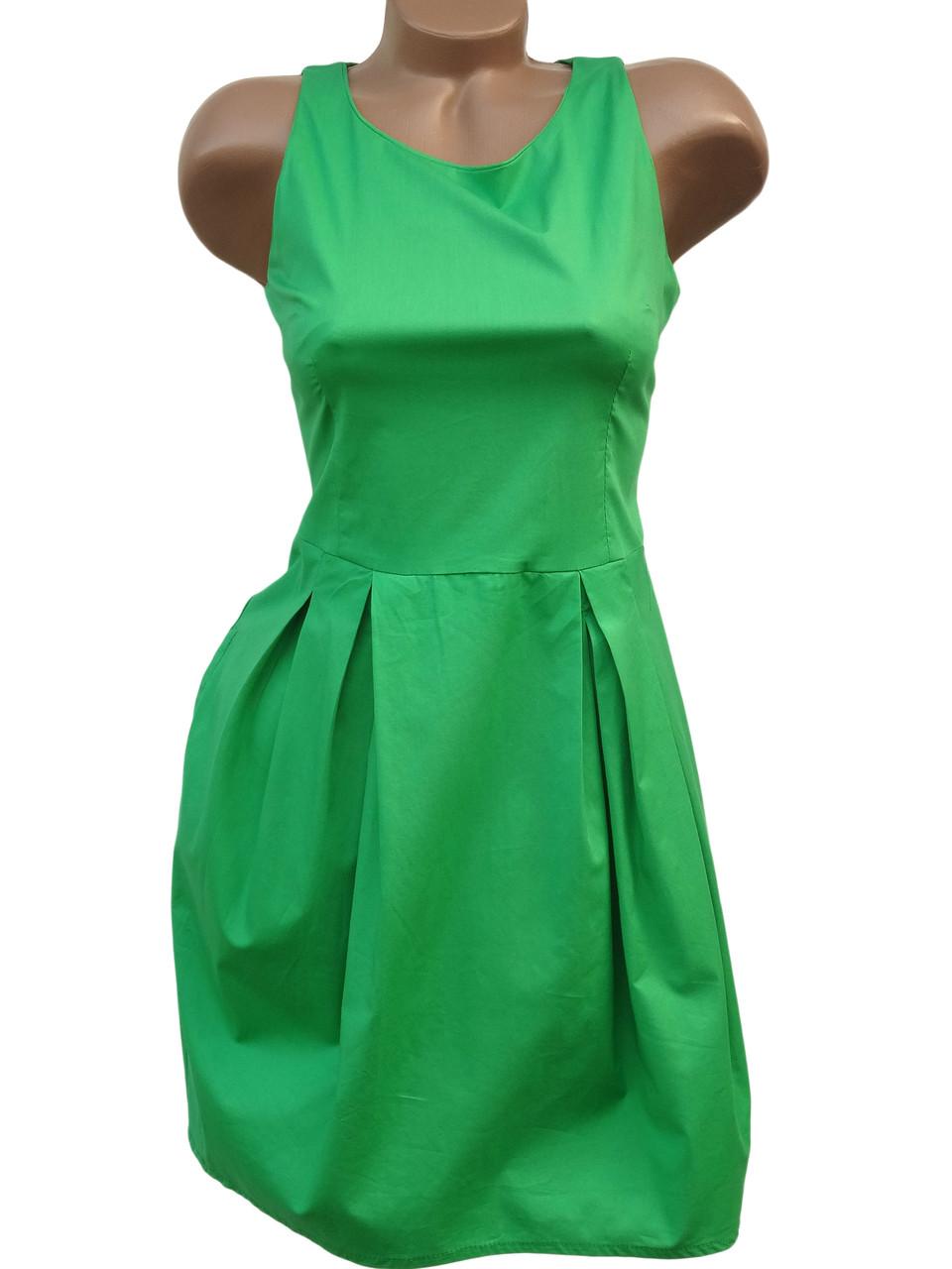 Короткие летние платья (в расцветках 40-42)
