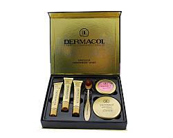 Набор Dermacol Make-up set тональный крем пудра румяна