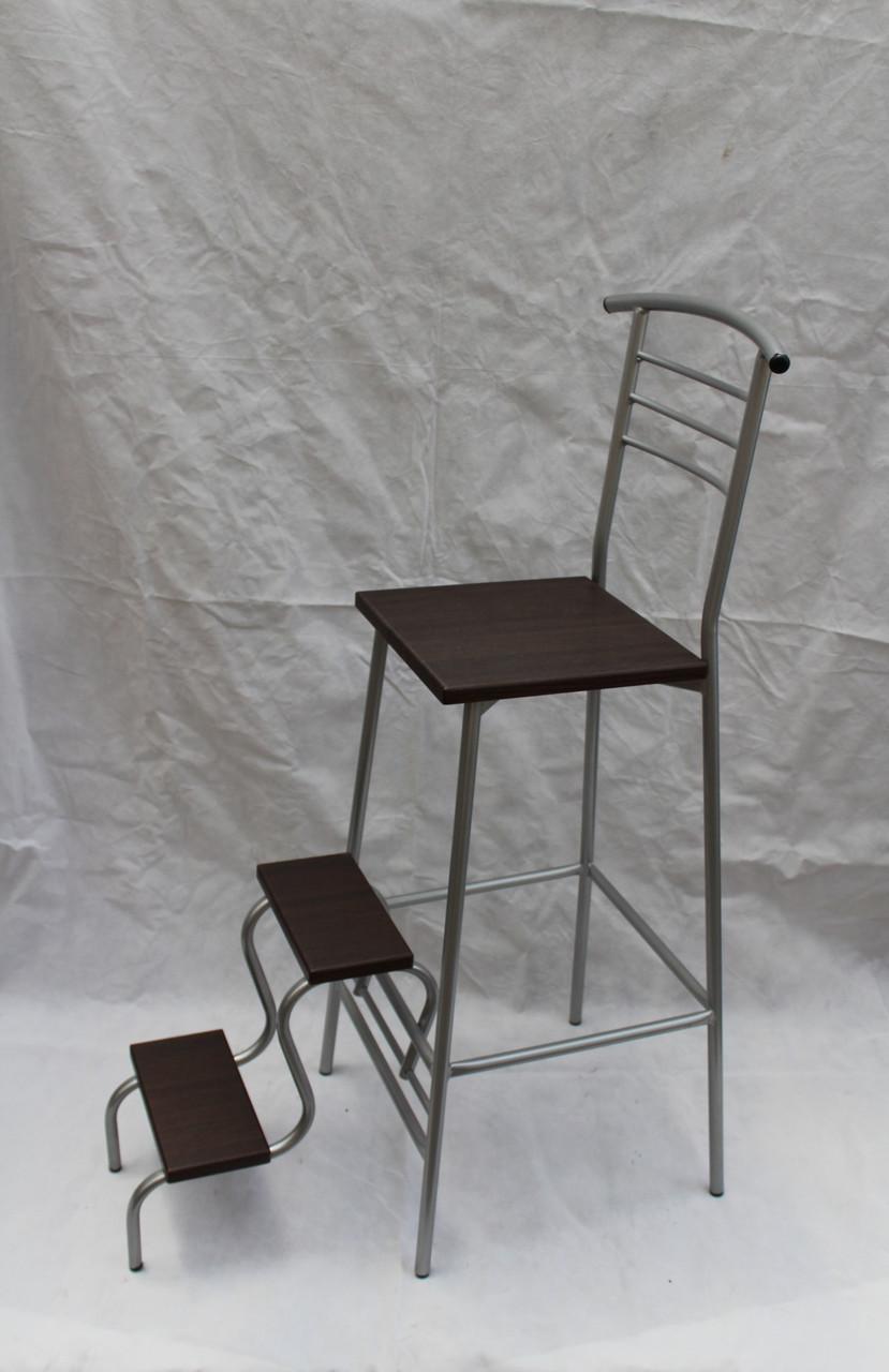 Барный стул лестница венге